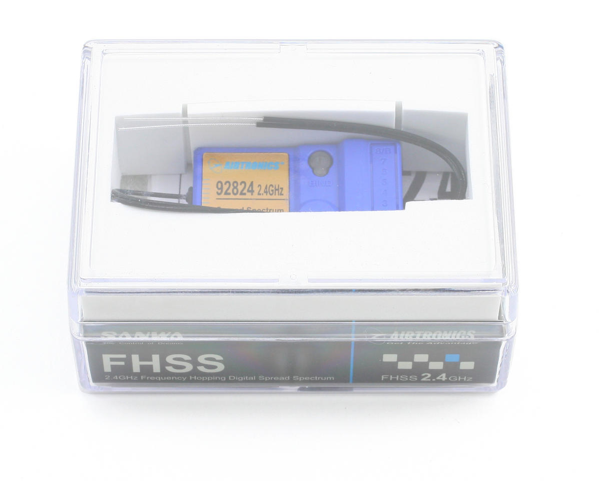 Airtronics 92824 2.4 GHz FHSS-1 8 Channel Receiver (RDS8000)