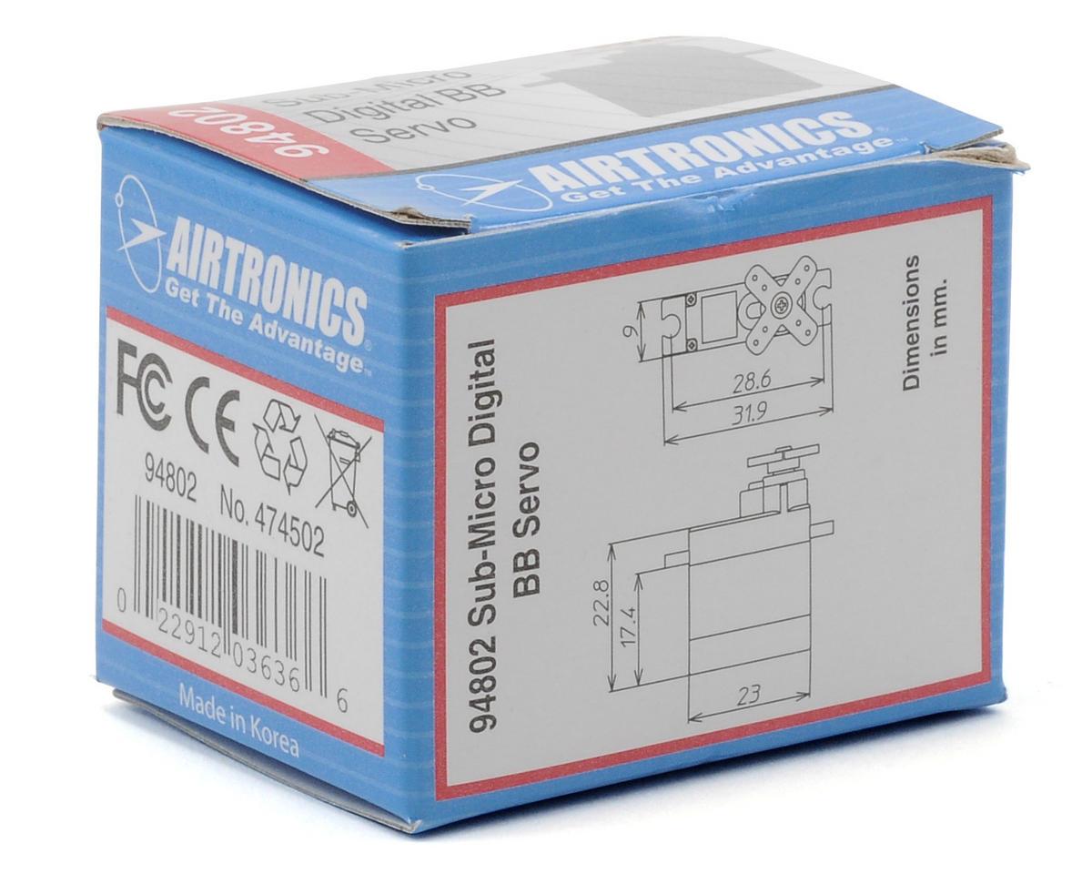 Airtronics 94802 Sub-Micro Digital Ball Bearing Servo