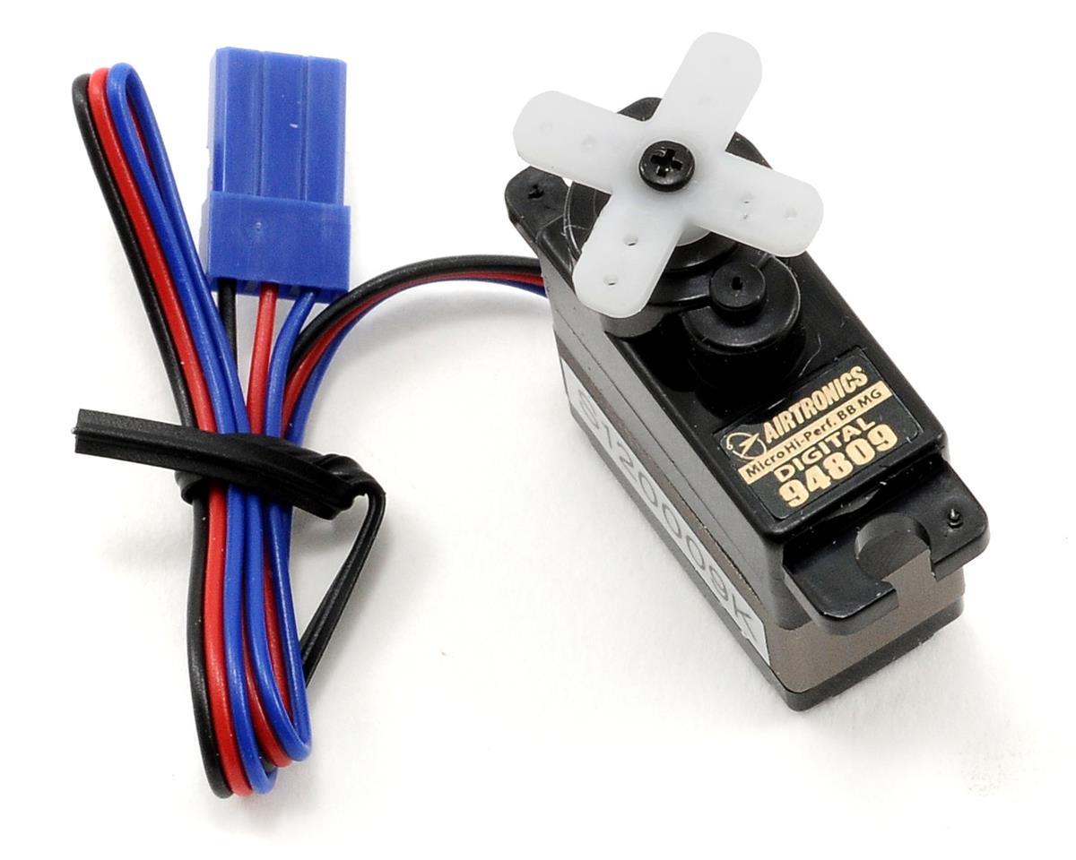 Airtronics 94809 Micro Hi-Performance Ball Bearing Metal Gear Digital Servo