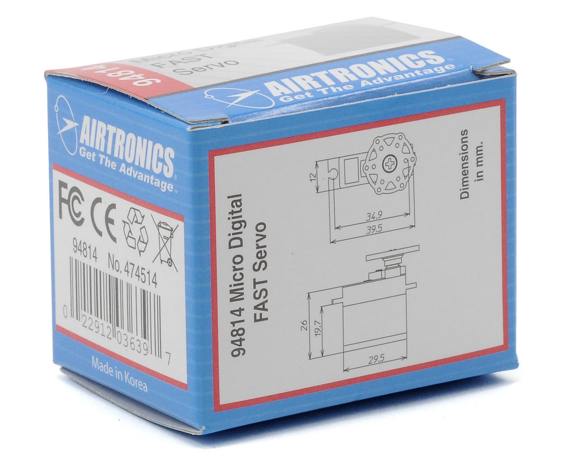 Airtronics 94814 FAST Micro Digital Servo