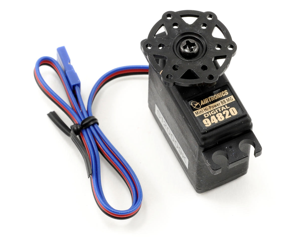 Airtronics 94820 Mini Digital Hi-Power Ball Bearing Metal Gear Servo