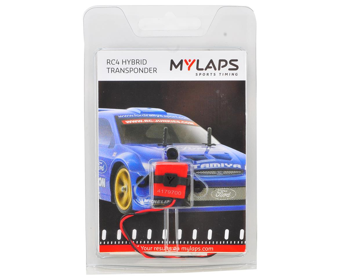 Personal RC4 Hybrid Direct Powered Transponder by MYLAPS