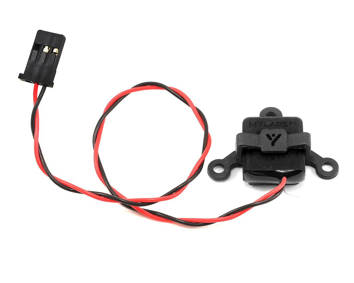 Personal RC4 Hybrid Direct Powered Transponder (Black) by MYLAPS