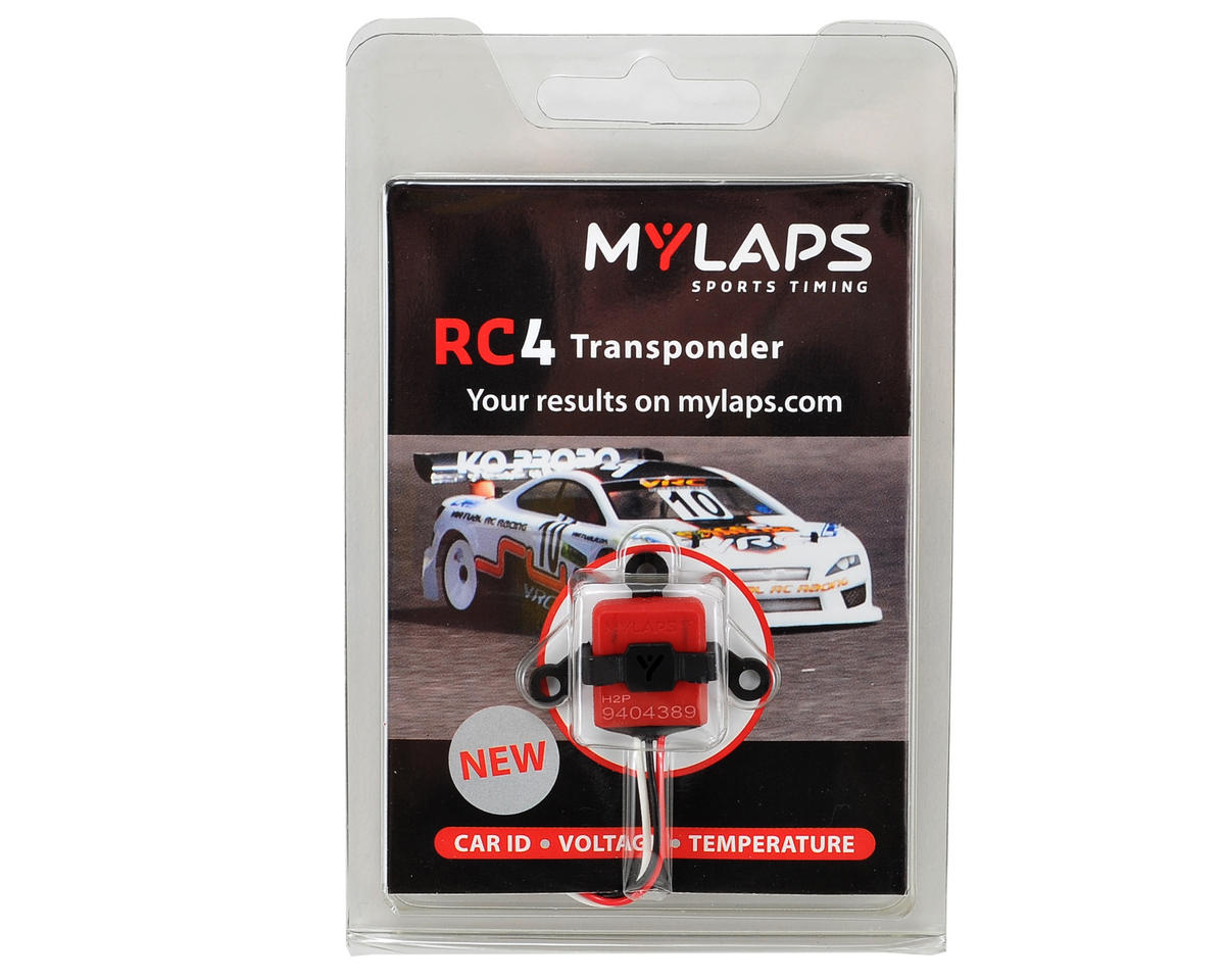 """RC4 """"3-Wire"""" Direct Powered Personal Transponder by MYLAPS"""