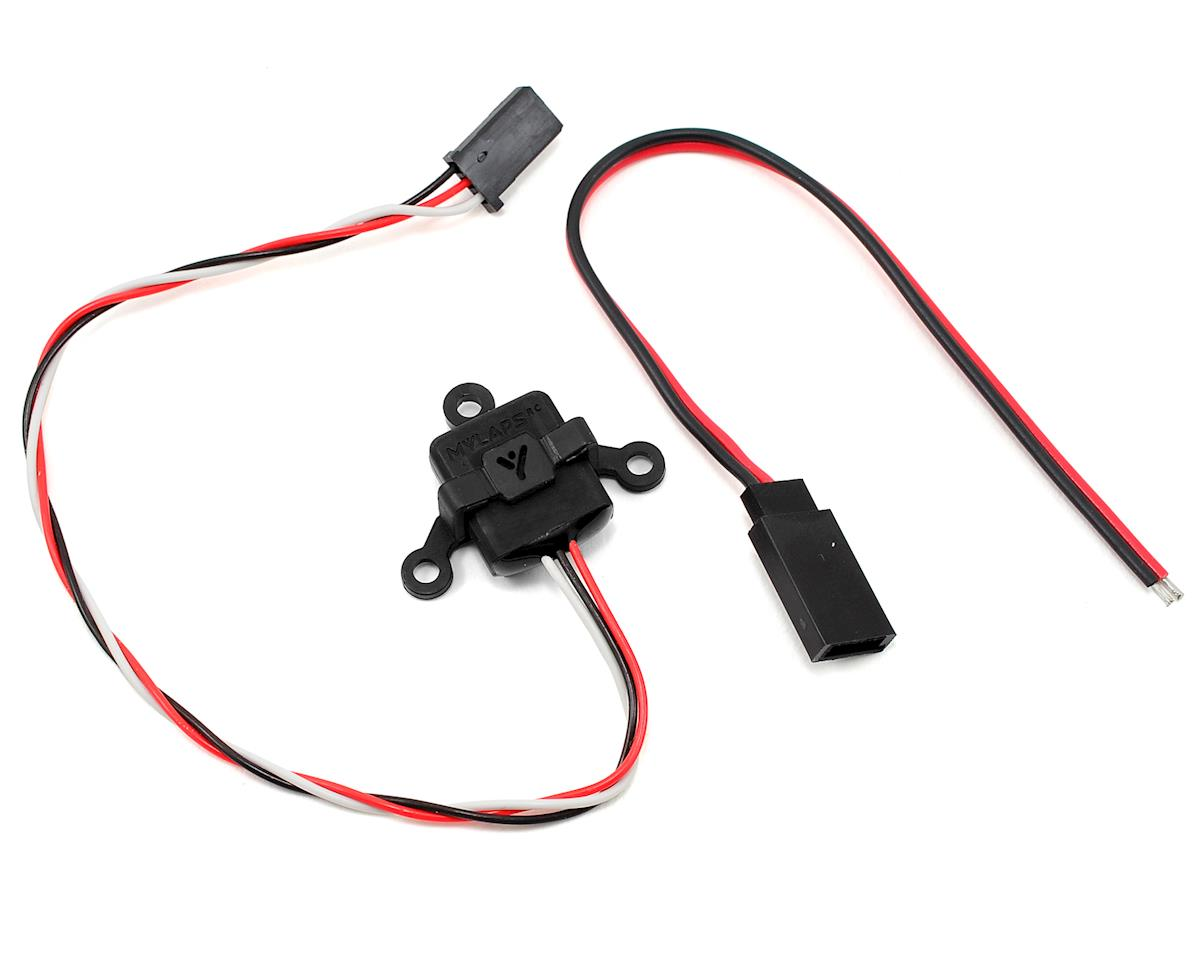 "MYLAPS RC4 ""3-Wire"" Direct Powered Personal Transponder (Black)"