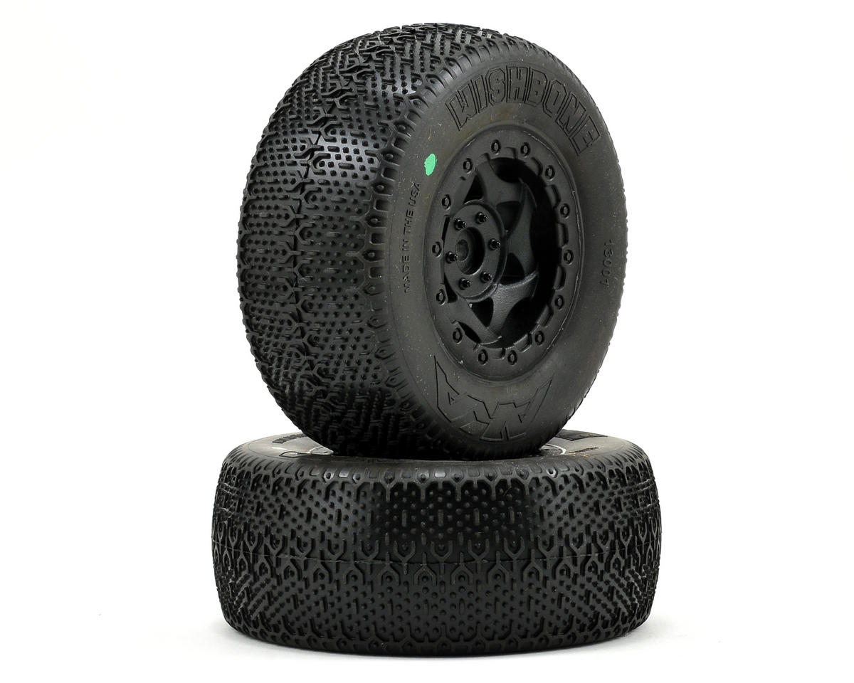 AKA Wishbone Short Course Pre-Mounted Tires (Slash Rear) (2)