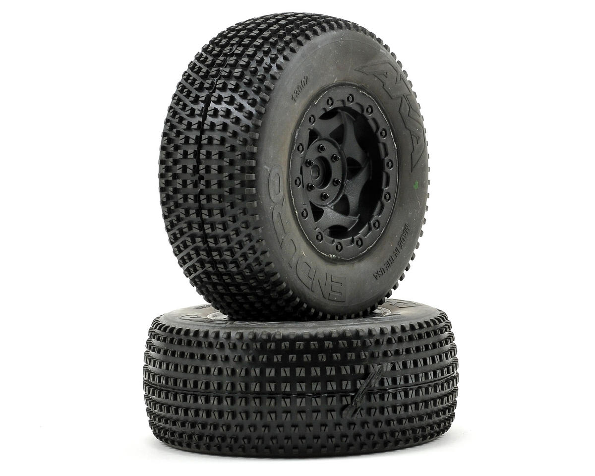 AKA Enduro SC Pre-Mounted Tires (SC6/Slash/Blitz) (2) (Black)