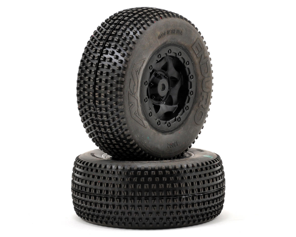 AKA Enduro SC Pre-Mounted Tires (SC5M) (2) (Black)