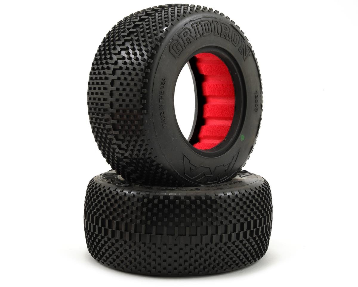 AKA Gridiron Short Course Tires (2) (Super Soft)