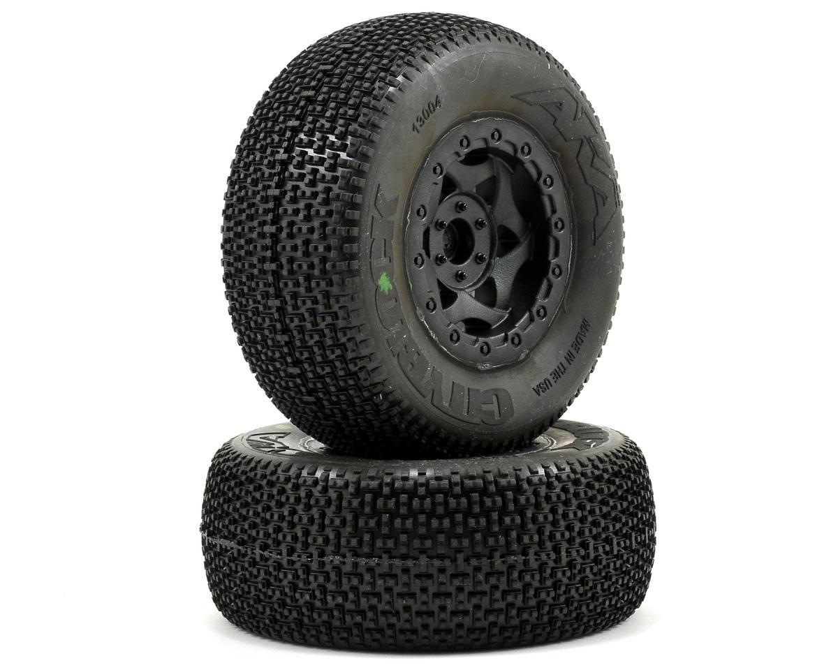AKA Cityblock SC Pre-Mounted Tires (Slash Front) (2) (Black)