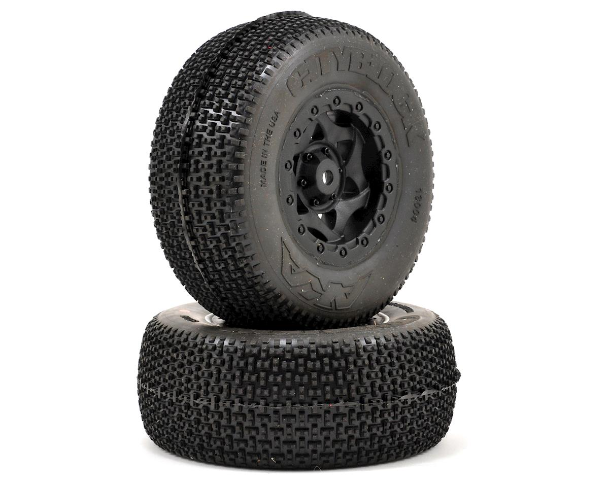 AKA Cityblock SC Pre-Mounted Tires (SC5M) (2) (Black)