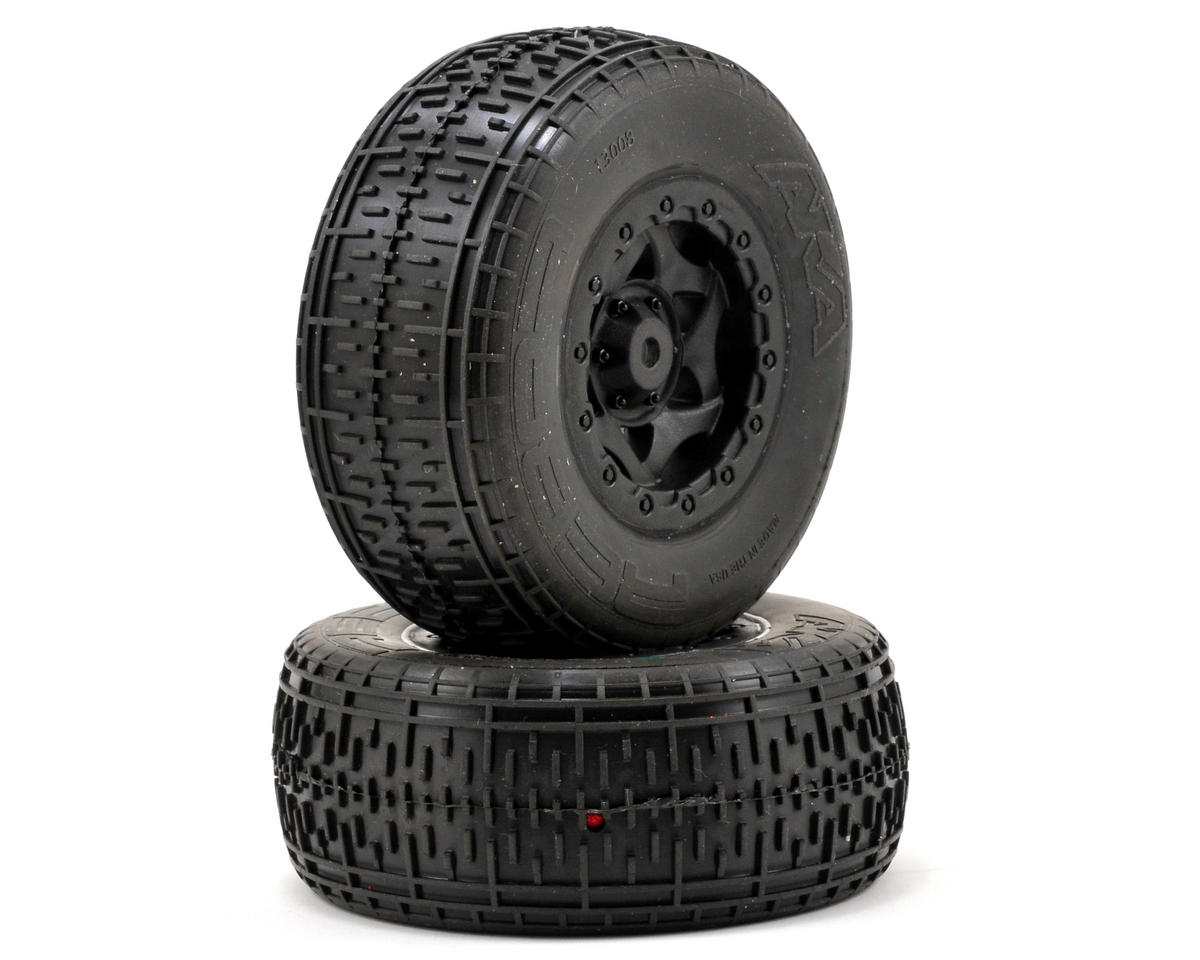 AKA Rebar SC Pre-Mounted Tires (TEN-SCTE) (2) (Black)