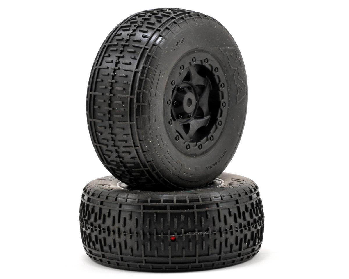AKA Rebar SC Pre-Mounted Tires (TEN-SCTE) (2) (Black) (Super Soft)