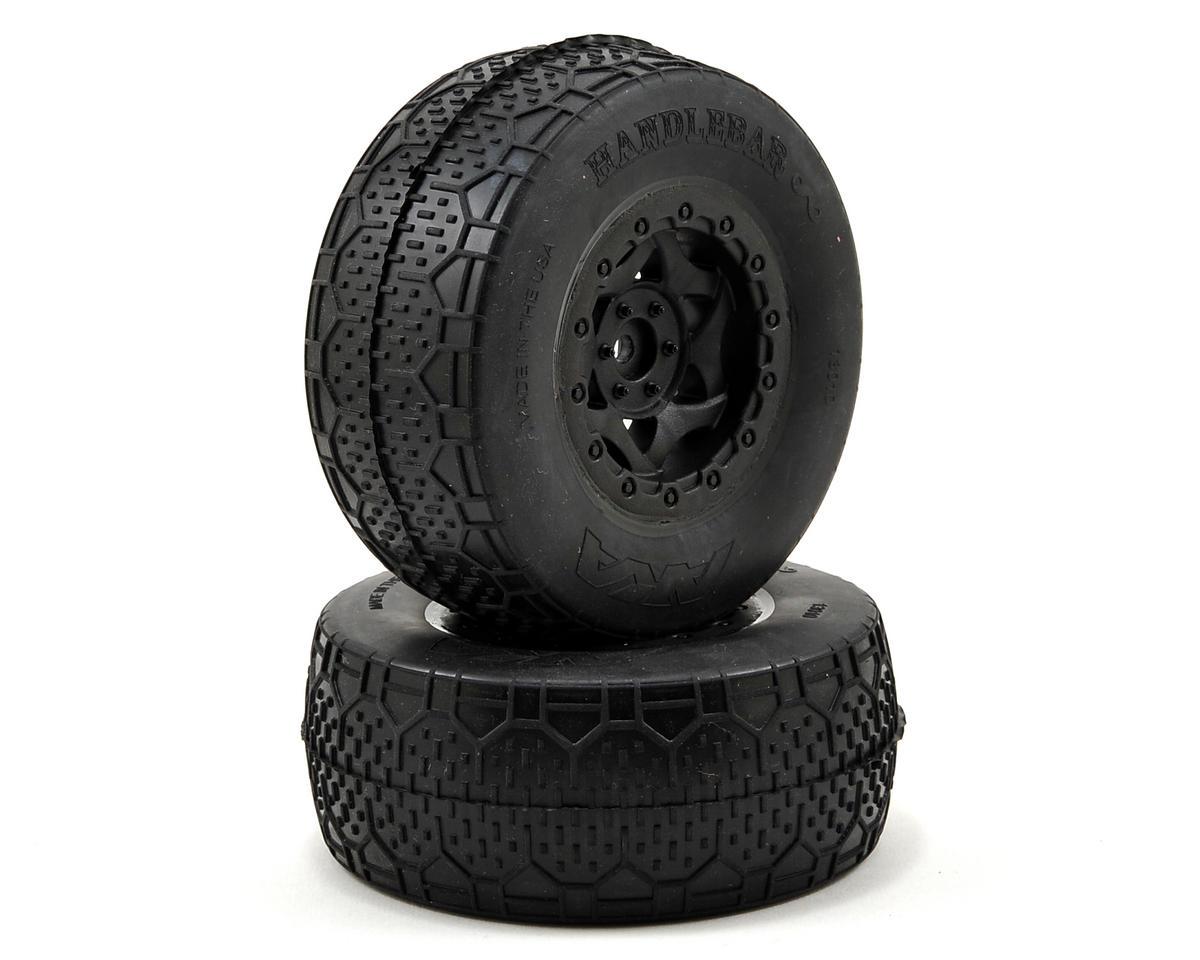 AKA Handlebar LTD Wide SC Pre-Mounted Tires (Slash Front) (2) (Black)