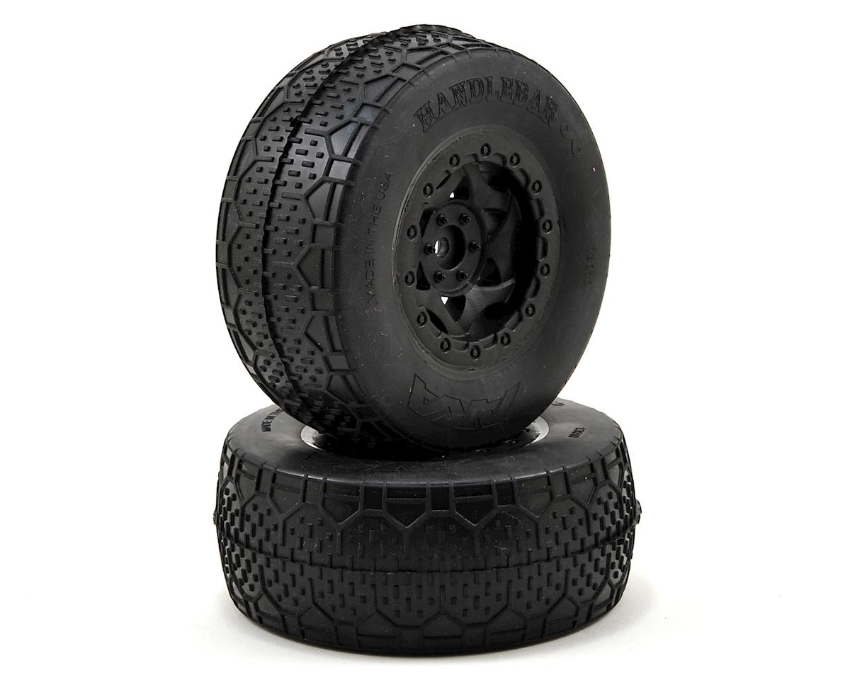 AKA Handlebar LTD Wide SC Pre-Mounted Tires (SC5M) (2) (Black)