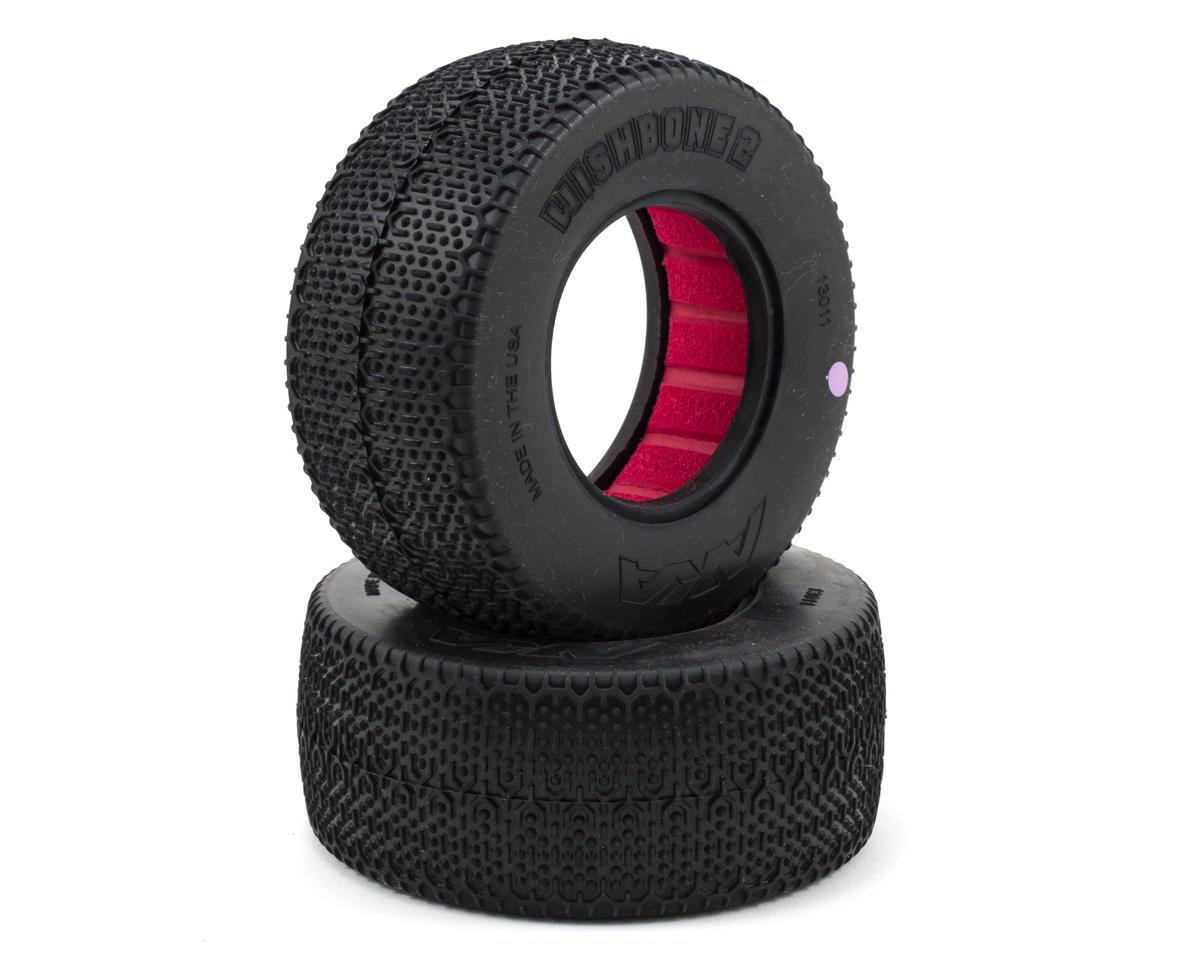 AKA Wishbone 2 Wide Short Course Tires (2)