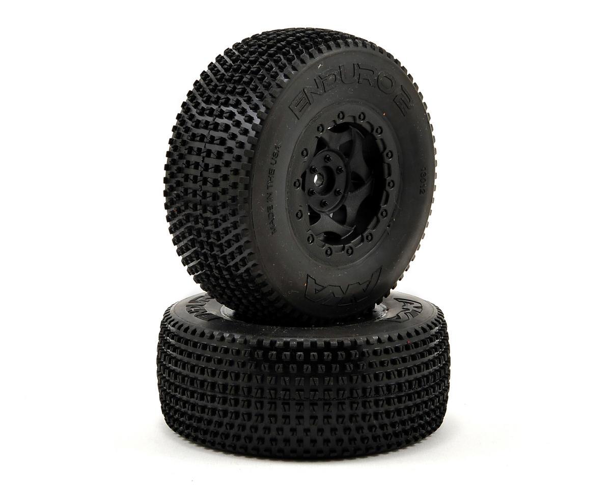 AKA Enduro 2 Wide SC Pre-Mounted Tires (TEN-SCTE) (2) (Black)