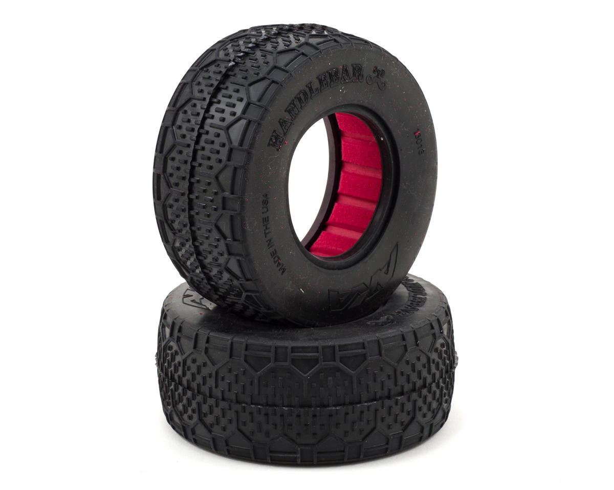 AKA Handlebar STD Wide Short Course Tires (2)