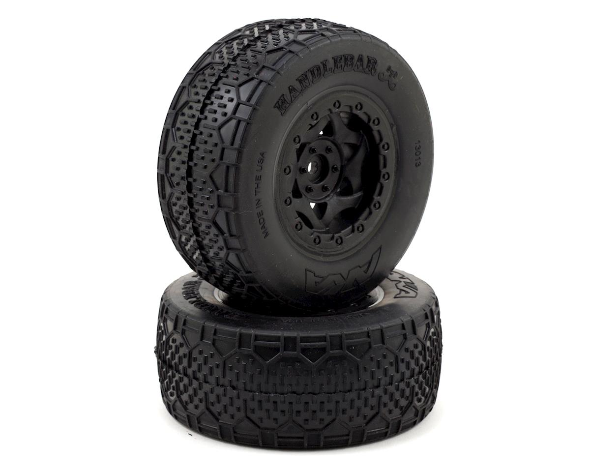 AKA Handlebar STD Wide Short Course Pre-Mounted Tires (SC5M) (2) (Black)