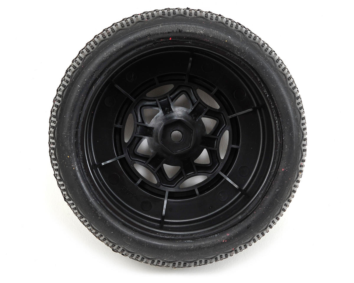 AKA Typo Wide SC Pre-Mounted Tires (TEN-SCTE) (2) (Black) (Ultra Soft)