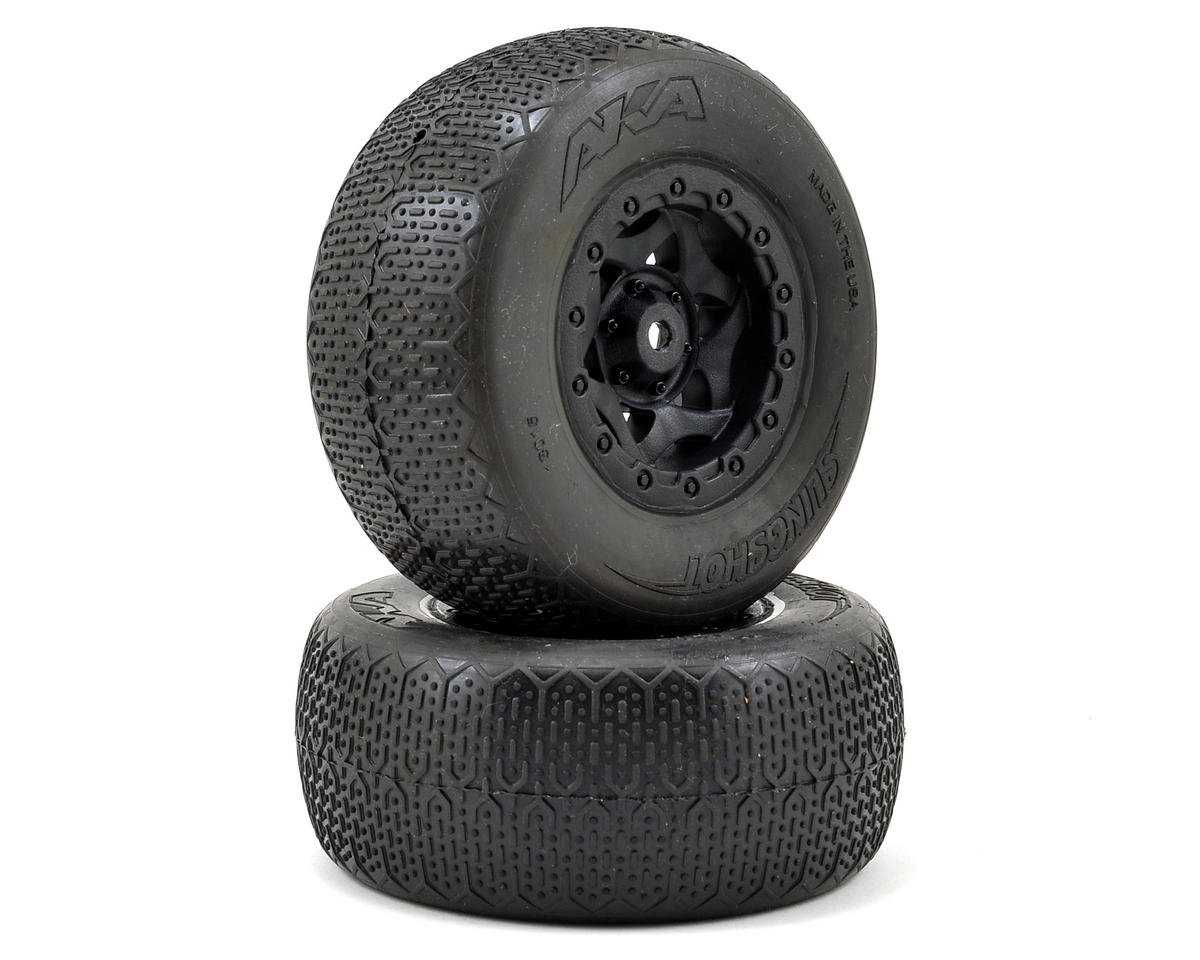 AKA Typo Wide SC Pre-Mounted Tires (SC5M) (2) (Black) (Ultra Soft)