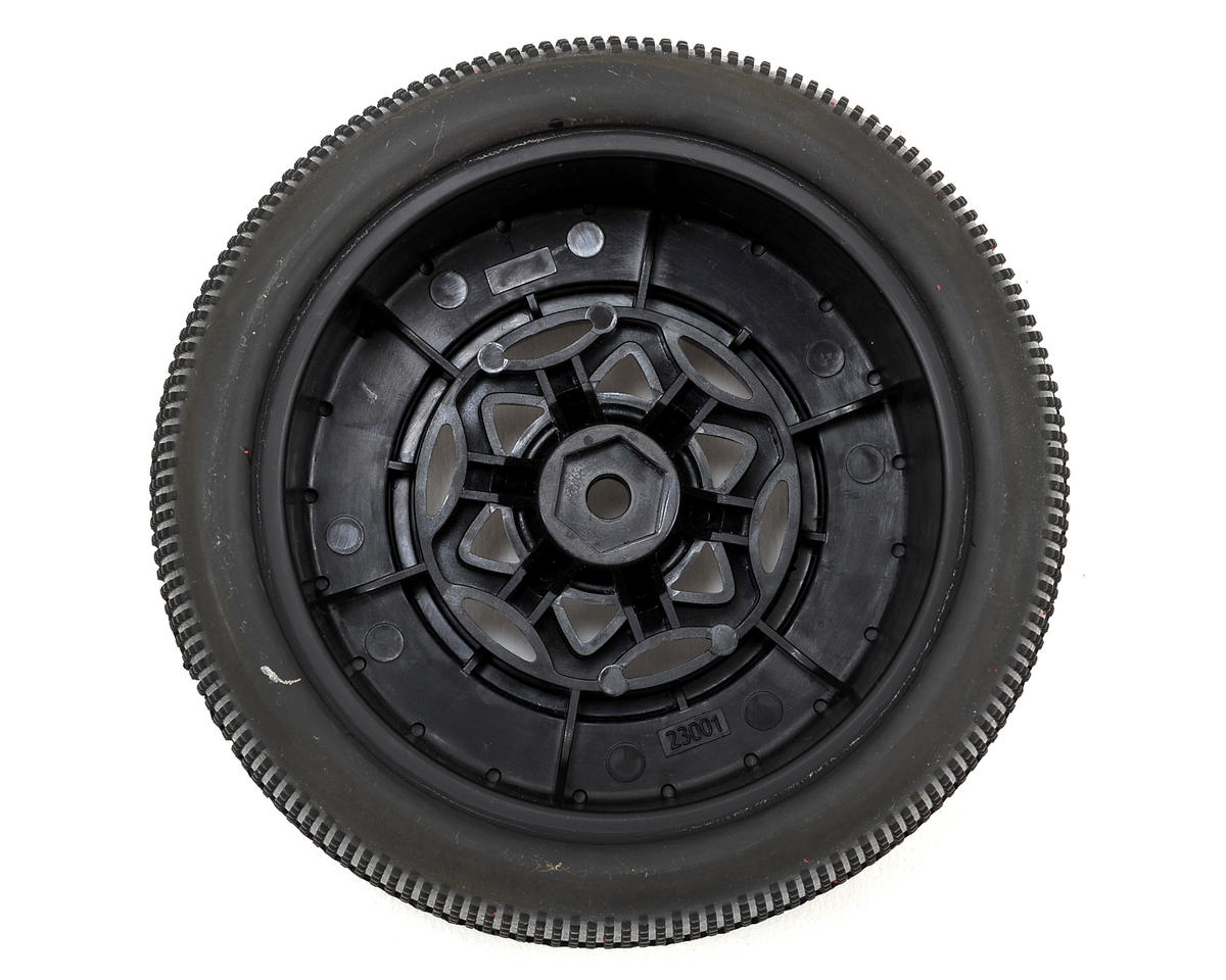 AKA Gridiron II Wide SC Pre-Mounted Tires (Slash Rear) (2) (Black) (Super Soft)
