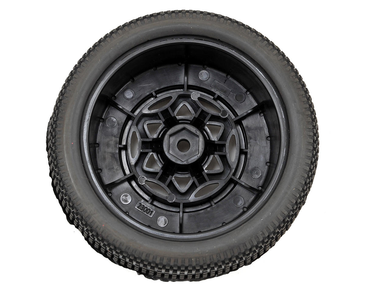 AKA Impact Wide SC Pre-Mounted Tires (Slash Rear) (2) (Black) (Ultra Soft)