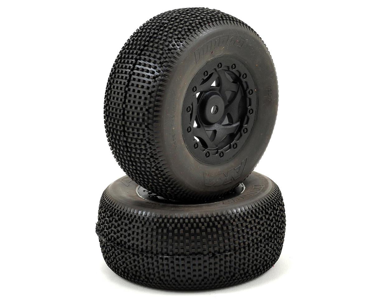 AKA Impact Wide SC Pre-Mounted Tires (TEN-SCTE) (2) (Black) (Ultra Soft)