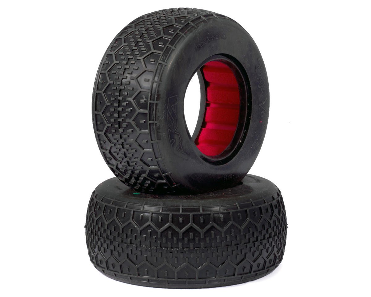 AKA Deja Vu Wide Short Course Tires (Clay)