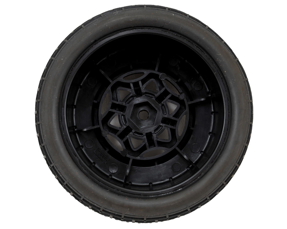 AKA Deja Vu Wide SC Pre-Mounted Tires (SC5M) (2) (Black) (Clay)