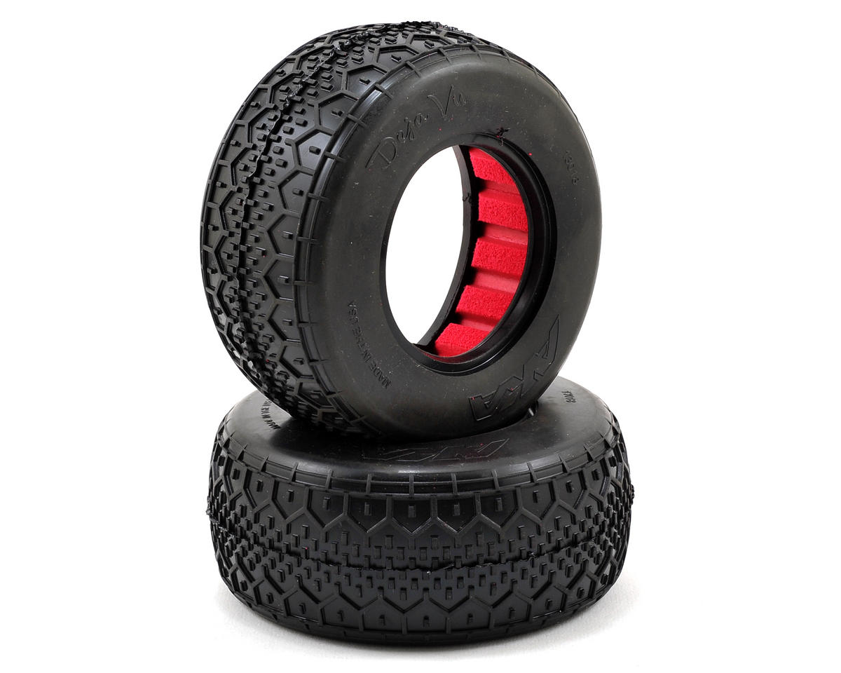 AKA Deja Vu Wide Short Course Tires (Super Soft)