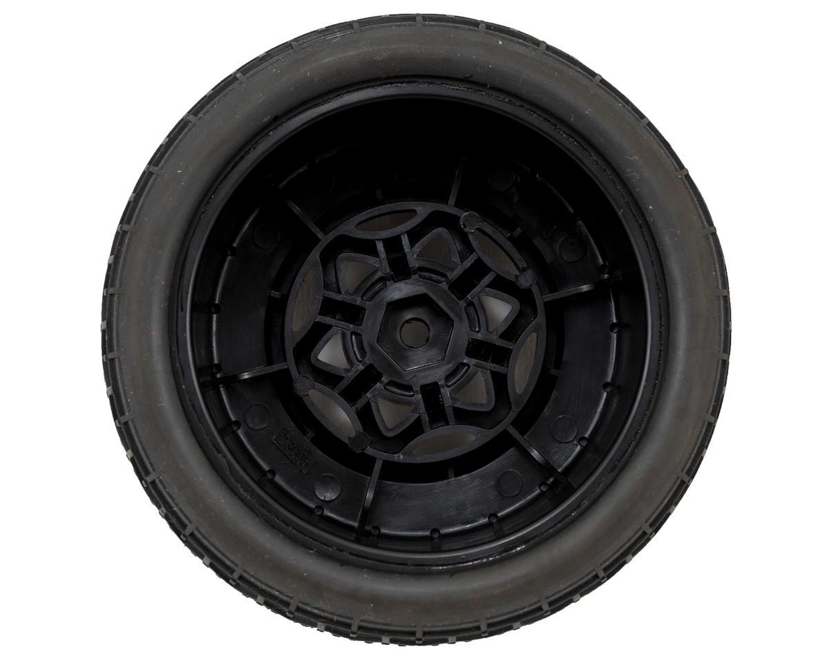 AKA Deja Vu Wide SC Pre-Mounted Tires (SC5M) (2) (Black) (Super Soft)