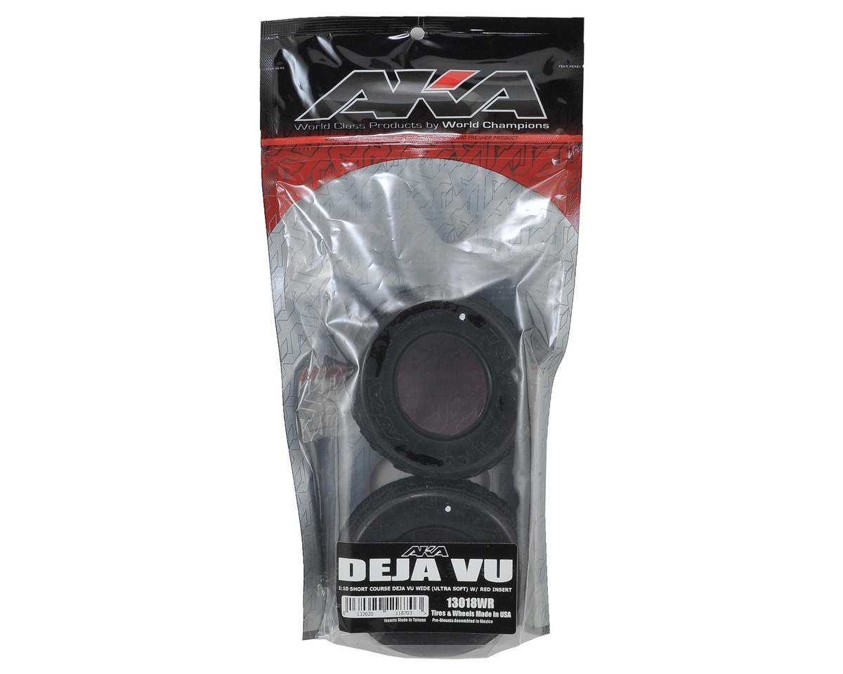 AKA Deja Vu Wide Short Course Tires (Ultra Soft)