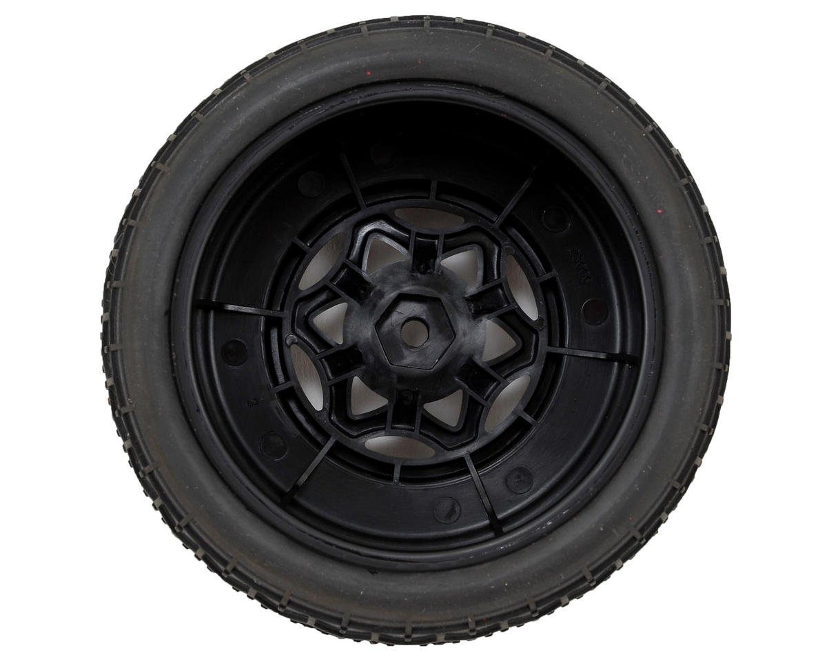 AKA Deja Vu Wide SC Pre-Mounted Tires (TEN-SCTE) (2) (Black) (Ultra Soft)