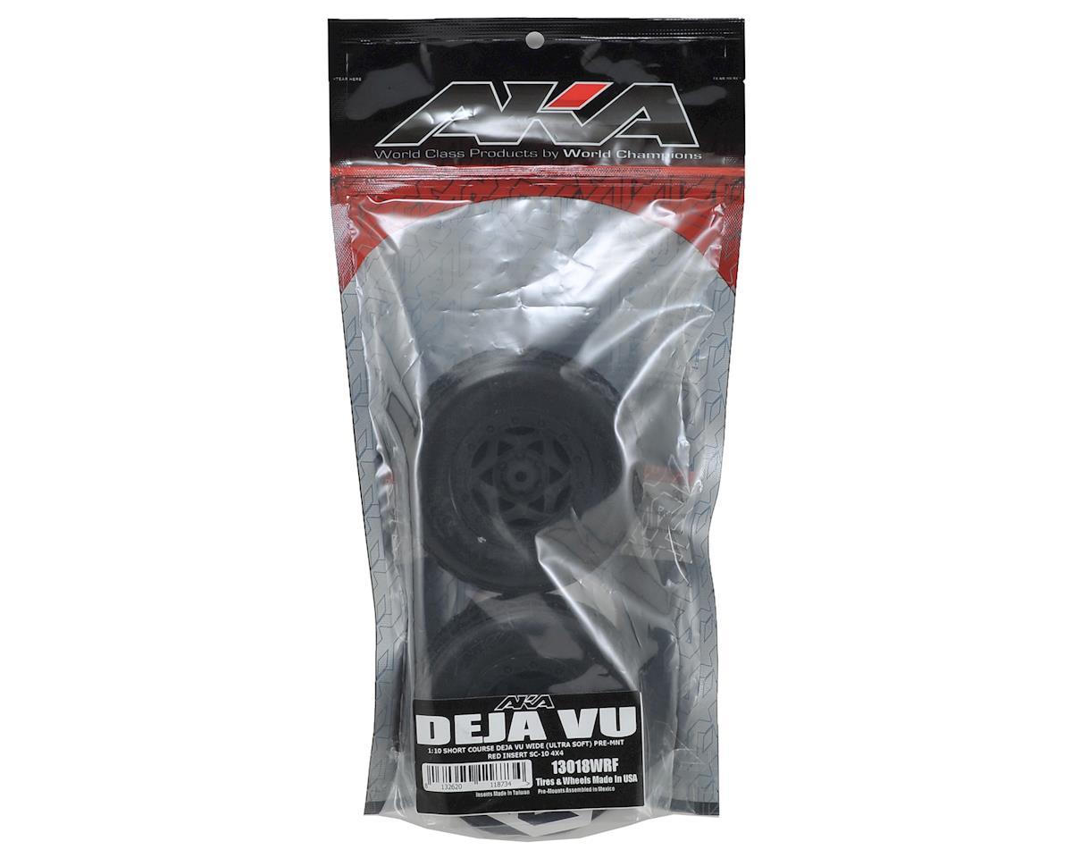 AKA Deja Vu Wide SC Pre-Mounted Tires (SC5M) (2) (Black) (Ultra Soft)