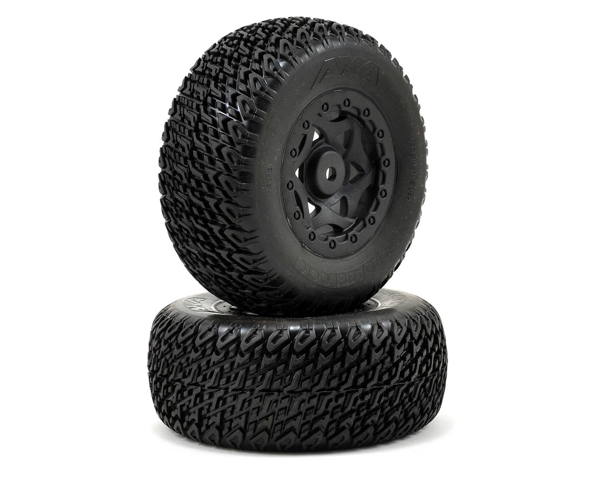 Roadblock Wide SC Pre-Mounted Tires (TEN-SCTE) (2) (Soft)