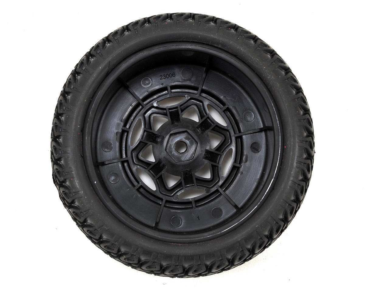 AKA Roadblock Wide SC Pre-Mounted Tires (TEN-SCTE) (2) (Soft)