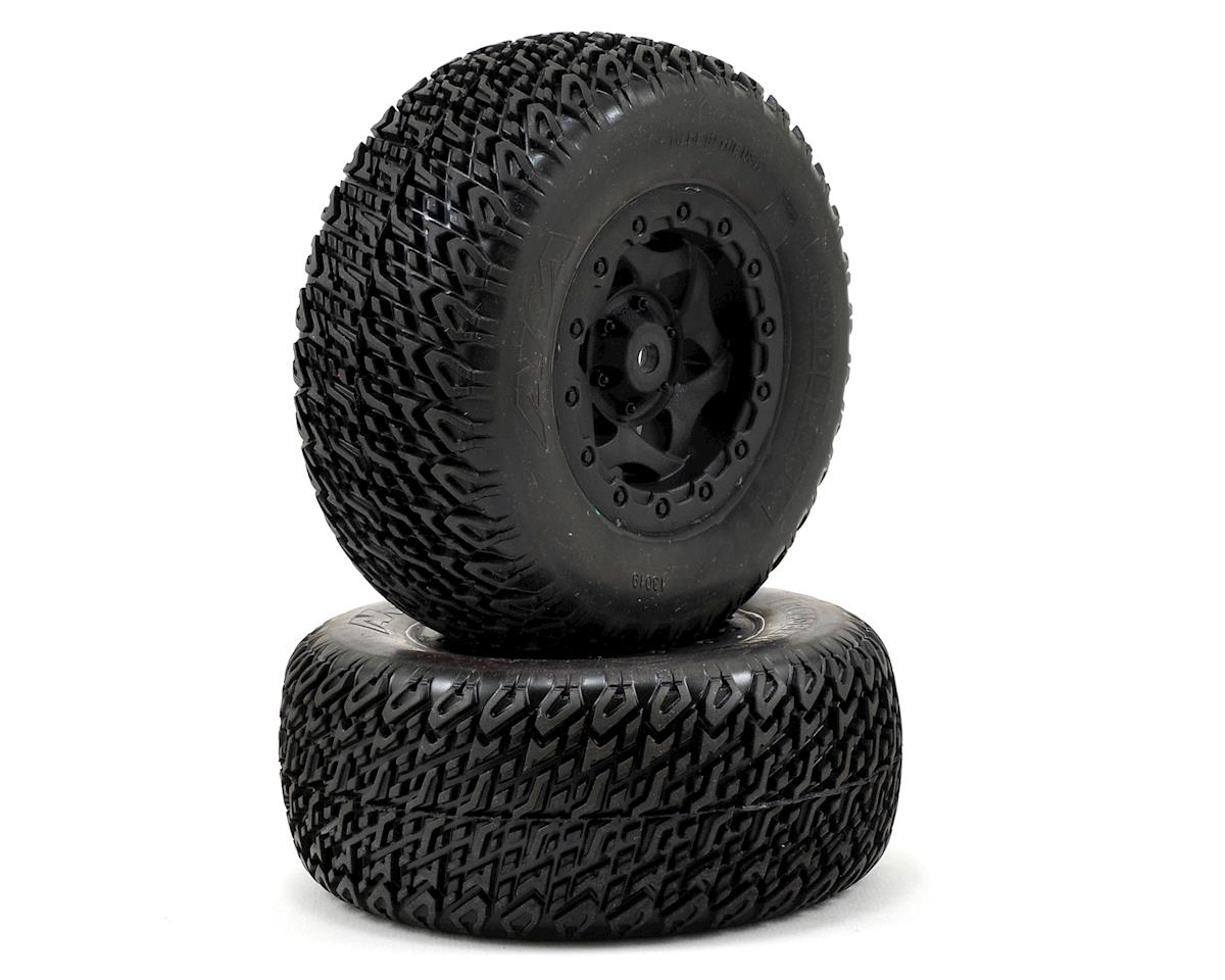 AKA Roadblock Wide SC Pre-Mounted Tires (SC5M) (2) (Soft)