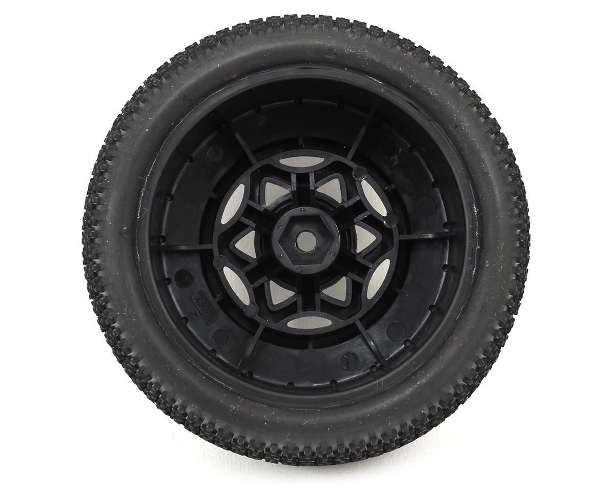 Cityblock 3 Wide SC Pre-Mounted Tires (SC6/Slash) (2) (Black) (Soft) by AKA