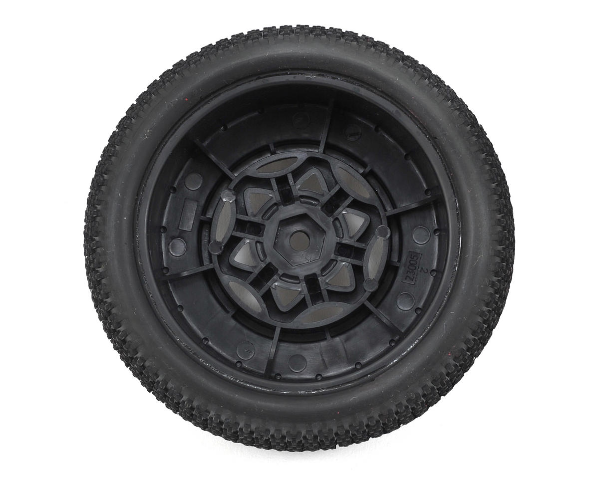 AKA Cityblock 3 Wide SC Pre-Mounted Tires (SC5M) (2) (Black) (Super Soft)