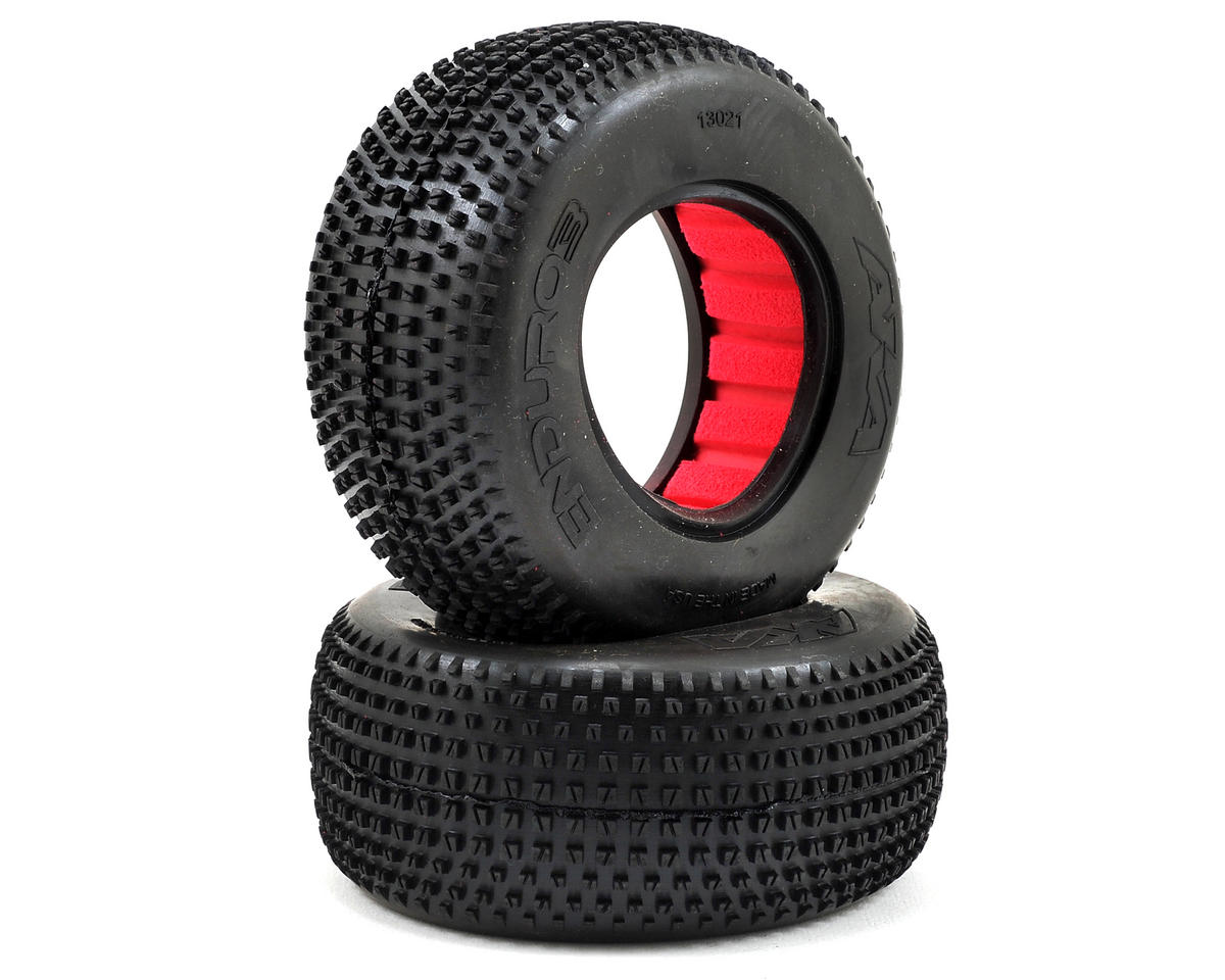 Enduro 3 Wide Short Course Tires (2) (Super Soft) by AKA