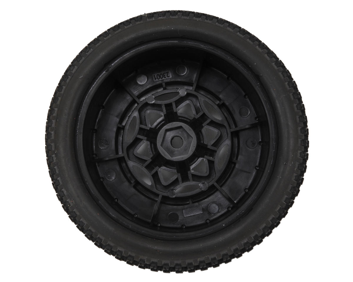 AKA Enduro 3 Wide SC Pre-Mounted Tires (SC6/Slash) (2) (Black) (Super Soft)