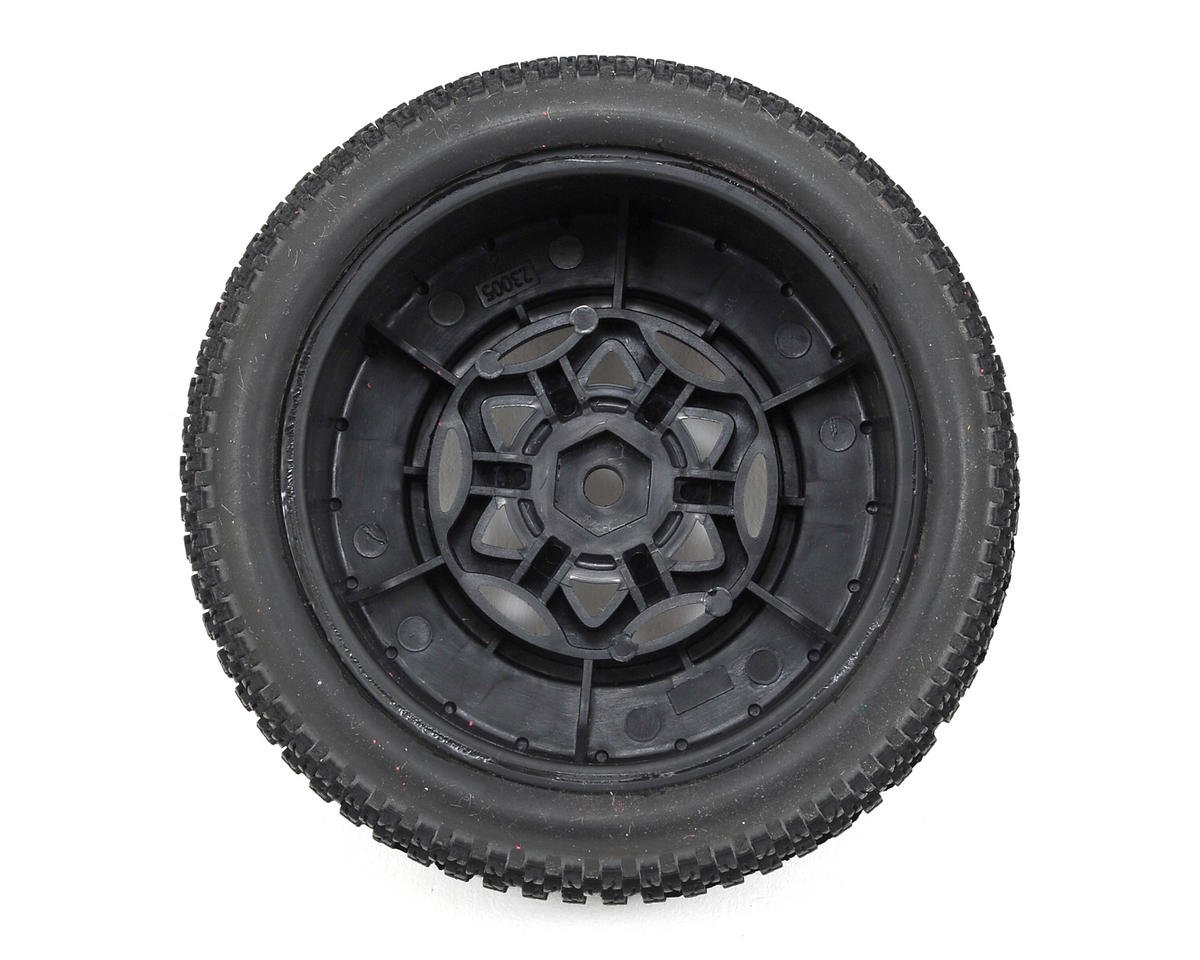 AKA Enduro 3 Wide SC Pre-Mounted Tires (SC5M) (2) (Black) (Super Soft)