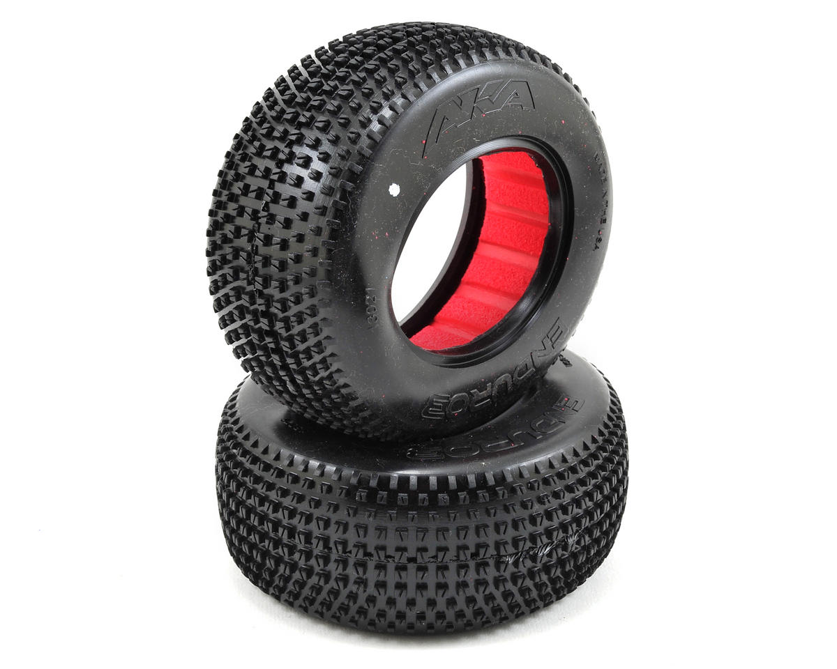 AKA Enduro 3 Wide Short Course Tires (2) (Ultra Soft)