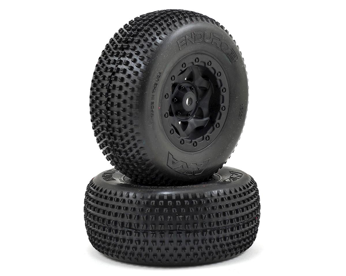AKA Enduro 3 Wide SC Pre-Mounted Tires (SC5M) (2) (Black) (Ultra Soft)