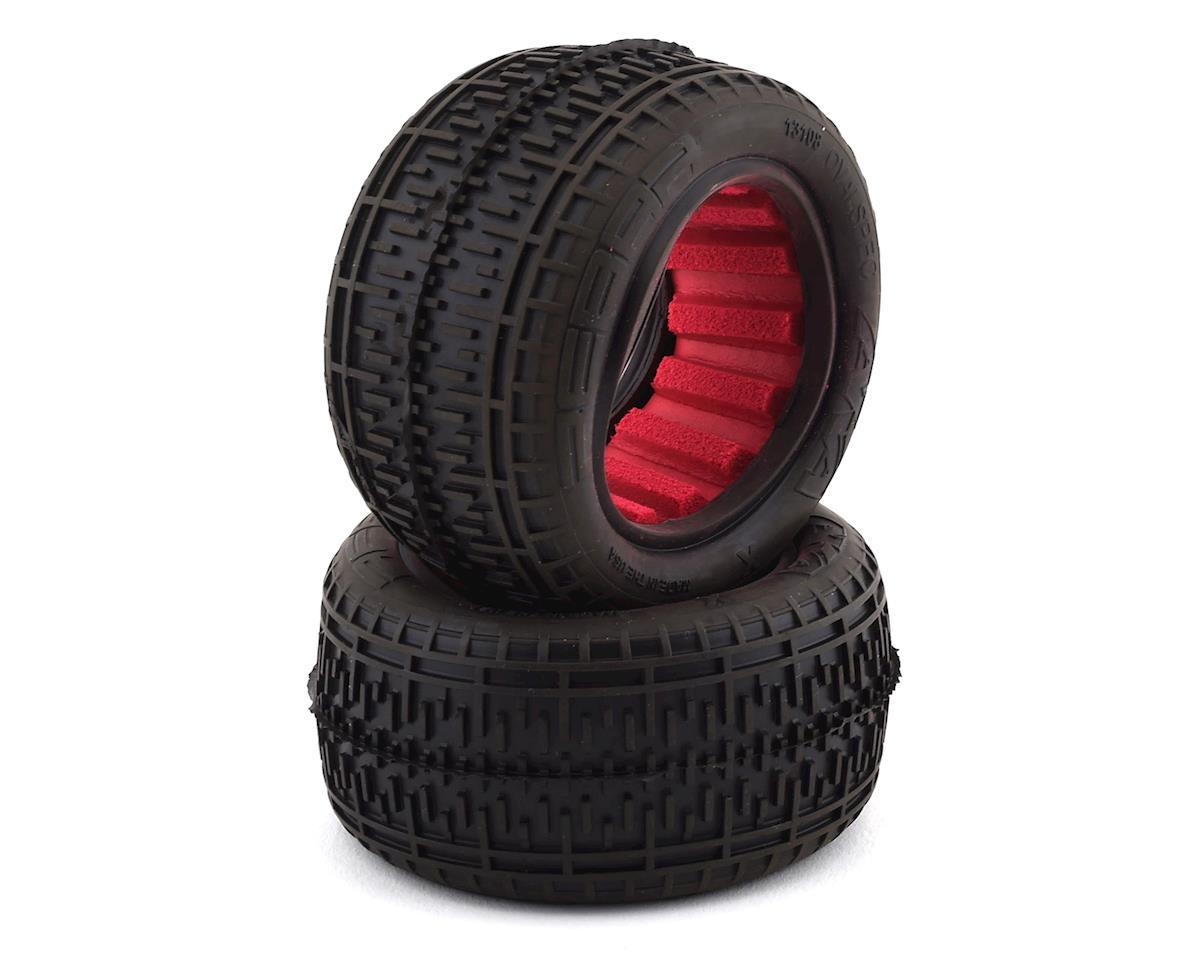 "AKA Rebar 2.2"" Rear Buggy Tires  w/Red Insert (2) (Super Soft)"