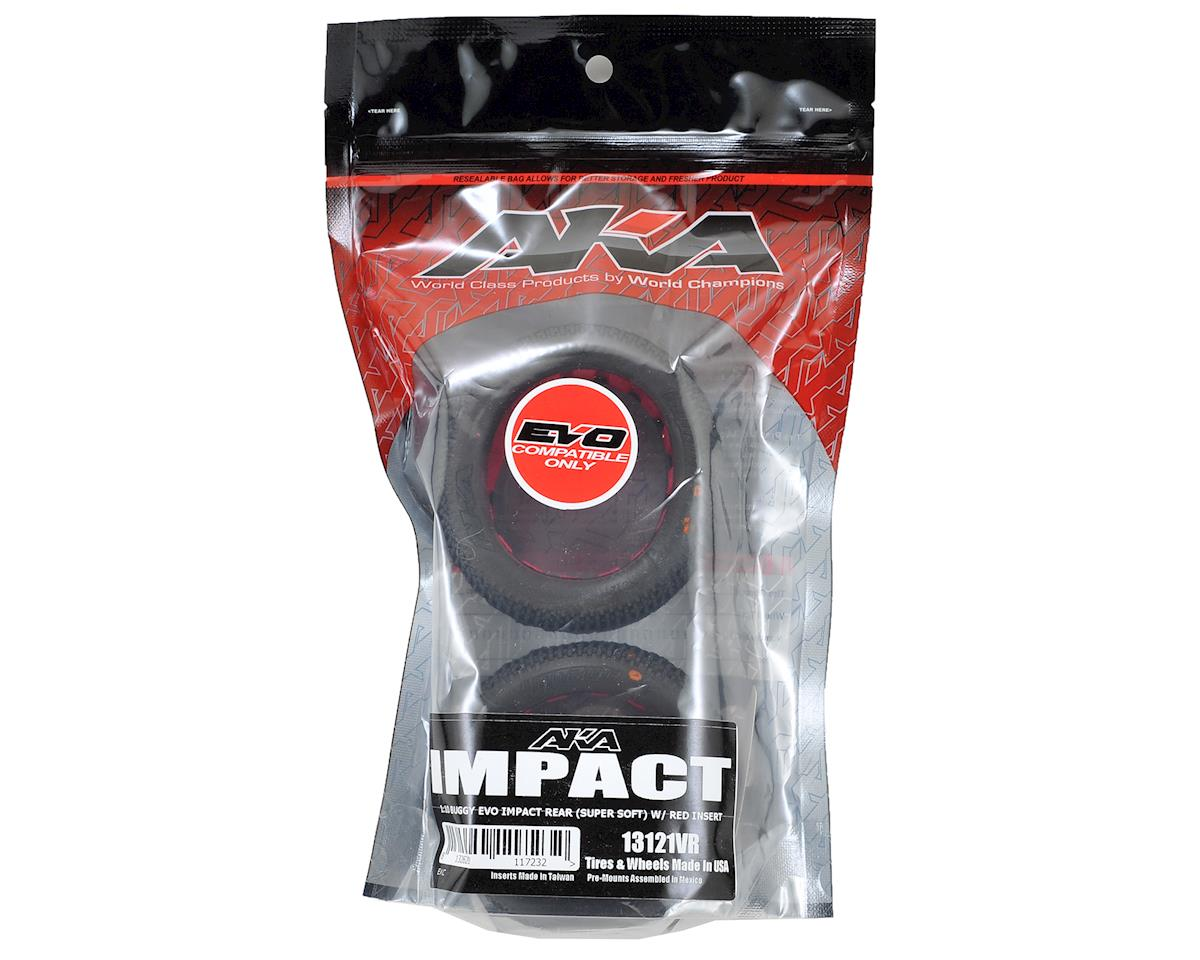 """EVO"" Impact Rear Buggy Tires (2) (Super Soft) by AKA"