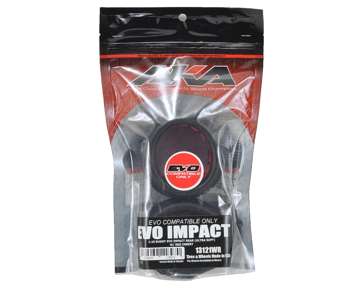 "AKA ""EVO"" Impact Rear Buggy Tires (2) (Ultra Soft)"