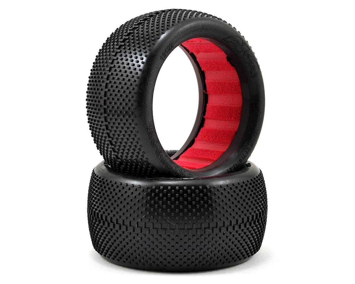 """AKA """"EVO"""" Gridiron Rear Buggy Tires (2) (Soft)"""