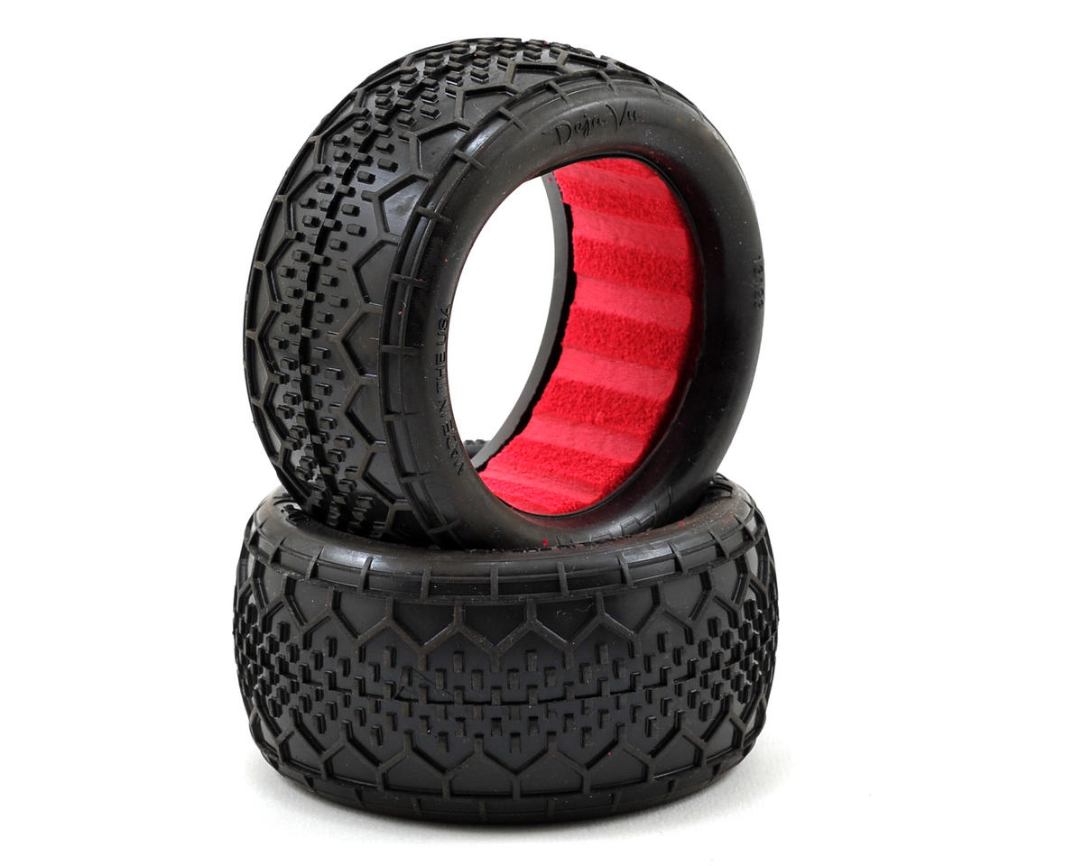 "AKA ""EVO"" Deja Vu Rear Buggy Tires (2) (Clay)"